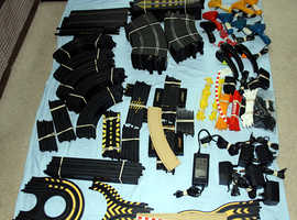Various Scalextric Track and Accessories Job Lot