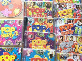 Pop party cds 1 to 15