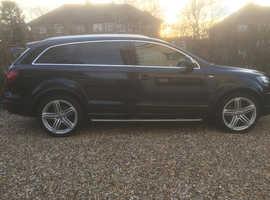 Audi Q7, 2010 (10) Black Estate, Automatic Diesel, 66,457 miles