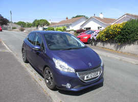 Peugeot 208, 2012 (12) Blue Hatchback, Manual Diesel, 83,254 miles