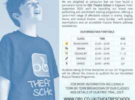 OB1 Theatre School Is Expanding!