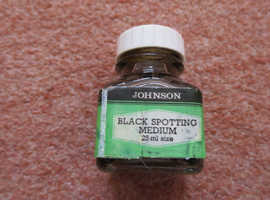 Johnsons of Hendon Black Spotting Medium Ink