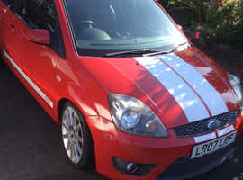Ford Fiesta S2 2007 (07) Red Hatchback, Manual Petrol, 92,000 miles