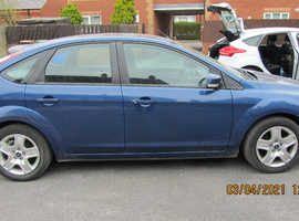 Ford Focus, 2009 (09) Blue Hatchback, Manual Diesel, 161500 miles