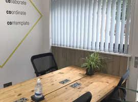 Flexible coworking desks in York city centre!