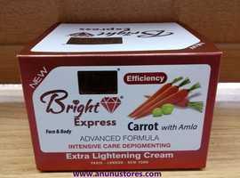 First Lady Bright Express Carrot & Amla Extra Skin Lightening Face & Body Cream - 500ml