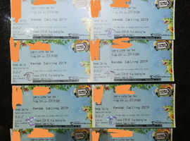 KENDAL CALLING X8 TICKETS - FULL WEEKEND INC. CAMPING