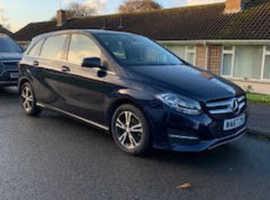 Mercedes B-CLASS, 2018 (67) Blue MPV, Automatic Diesel, 40k miles