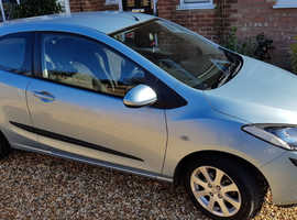 Mazda MAZDA 2, 2008 (08) Blue Hatchback, Manual Diesel, 22,000 miles