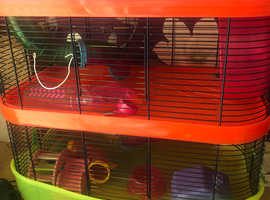 3 tier Hamster cage