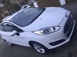 Ford Fiesta, 2014 (14) White Hatchback, Manual Petrol, 19,573 miles