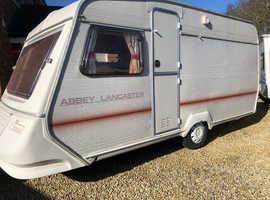 Abbey Lancaster 4/5 berth caravan