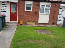 1 bed bunglow in telford swap 4 similar or flat staines