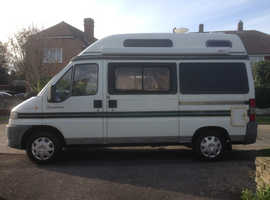 Peugeot Symphony Three Berth Campervan Converted to LPG (half price fuel)