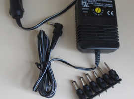 Car Power Supply Adaptor for multiple portable devices