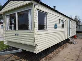 8 birth caravan for hire, Parkdean, Southview, Skegness