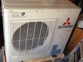Mitbushi air conditioning unit 10 Kw out door unit new.