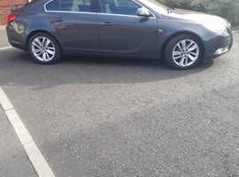 Vauxhall Insignia, 2013 (63) Grey Hatchback, Manual Diesel, 48,000 miles