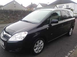 Vauxhall Zafira, 2010 (10) Black MPV, Manual Diesel, 101,452 miles