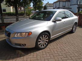 Volvo S80, 2012 (61) Silver Saloon, Automatic Diesel, 70,000 miles