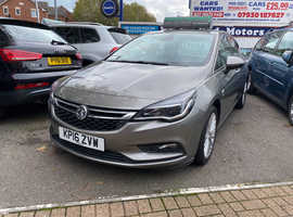Vauxhall Astra, 2016 (16) Grey Hatchback, Manual Diesel, 31,907 miles