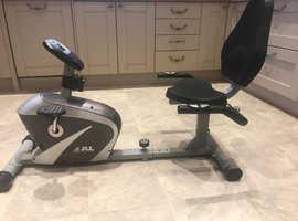 JLL RE100 Model Recumbent Exercise Bike
