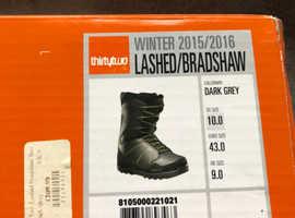 thirtytwo Lashed/ Bradshaw Snowboard Boots - Men's - 2015/2016 UK Size 9