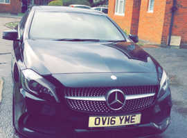 Mercedes A-CLASS, 2016 (16) Black Hatchback, Manual Petrol, 64,000 miles