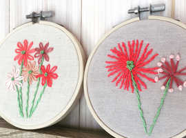 Craft Class - Modern Embroidery
