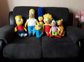 SIMPSON FAMILY SOFT YOYS