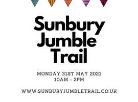 Sunbury on Thames (TW16) Jumble Trail - Bank holiday Monday 10am - 2pm