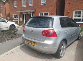 Non runner Volkswagen Golf, 2004 (54) Silver Hatchback, Automatic Diesel, 135,000 miles