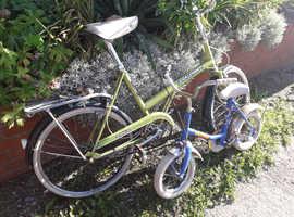 Raleigh bikes retro
