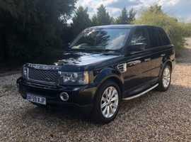 Land Rover Range Rover Sport, 2009 (59) black estate, Automatic Diesel, 130,000 miles