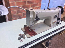 Seiko Heavy Duty Unison Compound Feed Walking Foot Sewing Machine  Model: STH-8BLD with Large Bobbin Capacity