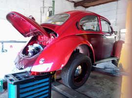 Swap Classic VW beetle 1600tp fresh build, no rot, no Rust, swap
