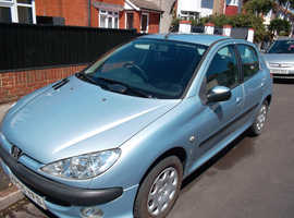 Peugeot 206 2.0 S HDi DIESEL 2 OWNERS 2005 (05) 11 SERVICES Manual  122,000 miles