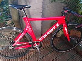Planet X Single Speed Road or Track Bike Fixie
