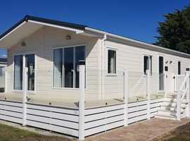 luxury lodge, brand new development @ selsey