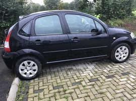 Citroen C3, 2009 (58) Black Hatchback, Manual Diesel, 68,000 miles