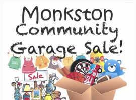 Monkston Community Garage Sale 2021 Sunday 18th July 10.30am