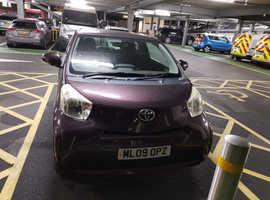 Toyota Iq, 2009 (09) Purple Hatchback, Manual Petrol, 67,064 miles