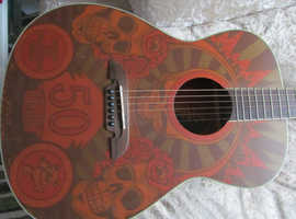Grateful Dead 50th anniversary ltd edi Alvarez acoustic guitar Mint Condition