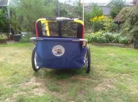2 child bike transporter