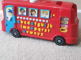 Alphabet and Phonics bus