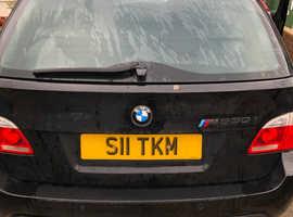 Rare!!BMW 530mSport 2006 e61 Black Pan.roof. Manual Petrol, 118,600 miles