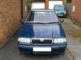 Skoda Felicia, 2000 (W) Green Hatchback, Manual Petrol, 87,000 miles