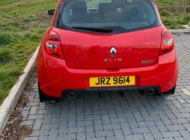Renault Clio, 2006 (56) Red Hatchback, Manual Petrol, 96,000 miles