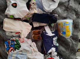 BABY BOY BUNDLE CLOTHES HUGE