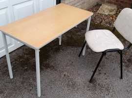 Desk Table & Chair, will separate